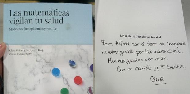 'Las matemáticas vigilan tu salud' de Clara Grima y Enrique F. Borja