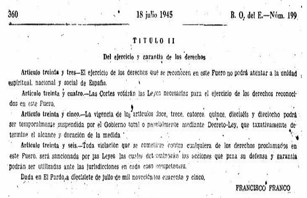 El origen de la expresión 'Hacer las cosas por el artículo 33'