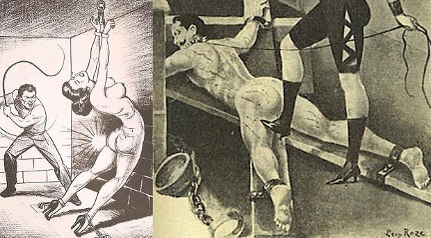 ¿Cuál es el origen de llamar 'disciplina inglesa' al hecho de infligir castigo y dolor?