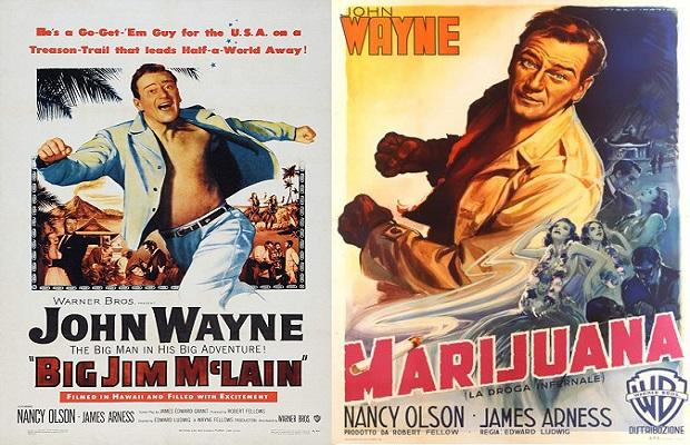 El curioso cambio en el doblaje y título de una película de John Wayne donde pasó de perseguir comunistas a cazar narcotraficantes