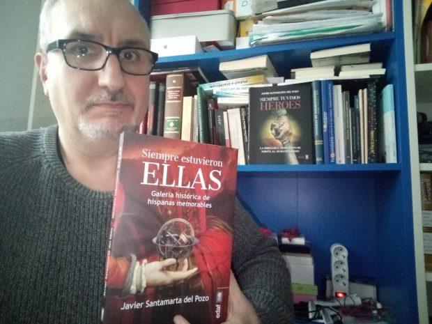 Reseña del libro: 'Siempre estuvieron ellas' de Javier Santamarta
