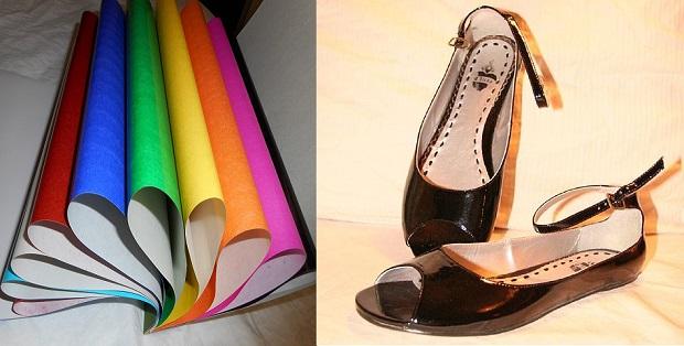 ¿De dónde surge llamar 'charol' a cierto tipo de papel y a los zapatos muy lustrosos?