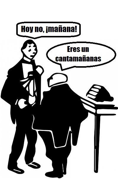¿De dónde surge decir a alguien que es un 'cantamañanas'?