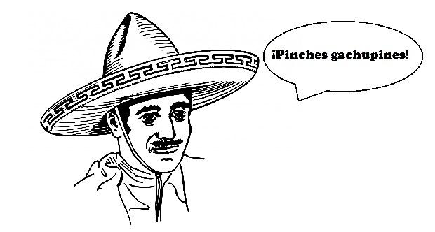 ¿De dónde surge que en México llamen 'gachupines' a los españoles?