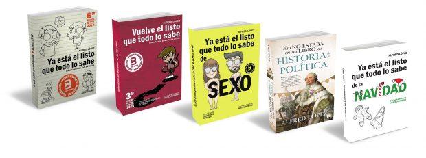 Libros de Alfred López