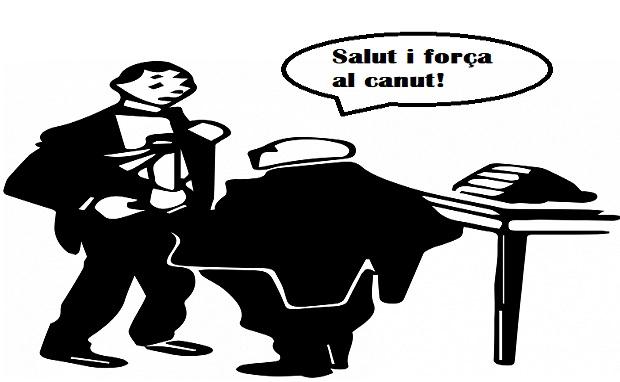 ¿De dónde surge la famosa expresión en catalán 'Salut i força al canut!'?