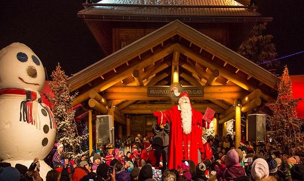 ¿Dónde vive Santa Claus?