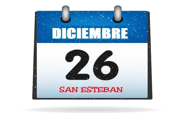 ¿Por qué el 26 de diciembre (San Esteban) es festivo en algunos lugares?