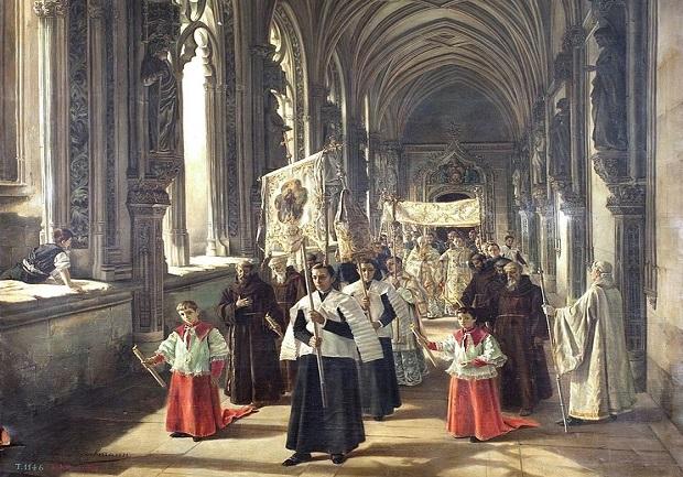 ¿Cuál es el origen de la expresión 'La procesión va por dentro'?