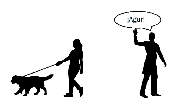 ¿Sabías que el termino vasco 'agur' proviene del latín?