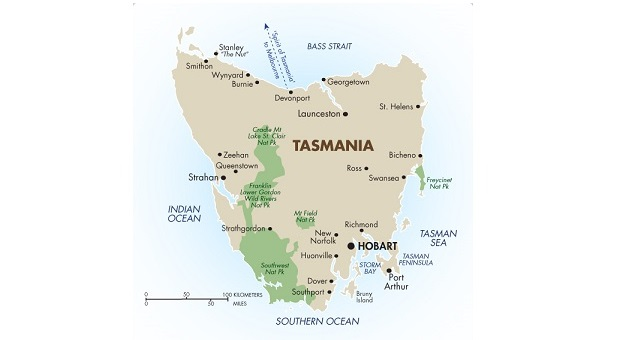 El origen del epónimo 'Tasmania'