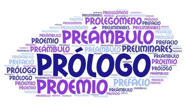 Prólogo, preámbulo y preliminares