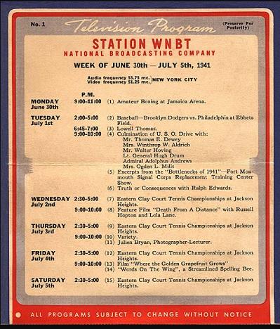 ¿Cuál fue el primer anuncio emitido por televisión?