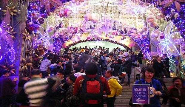 El importante peso que la Navidad tiene cada vez más en China