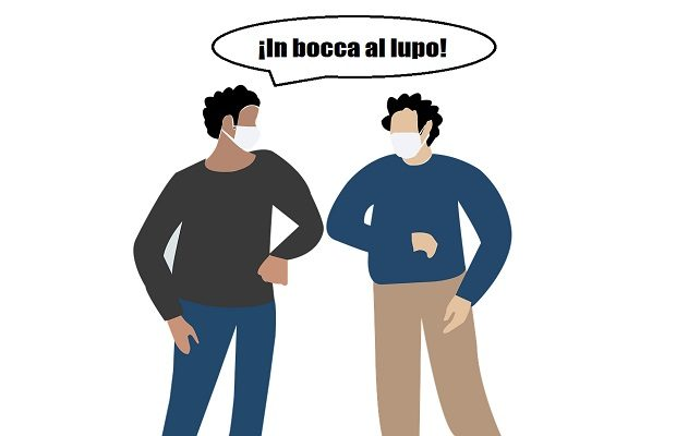 La curiosa forma de desearse buena suerte entre los italianos