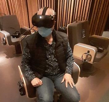 Un espectacular viaje al corazón de la música gracias a la realidad virtual