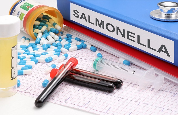¿De dónde surge llamar 'salmonelosis' a la infección por bacterias por ingerir determinados alimentos en mal estado?