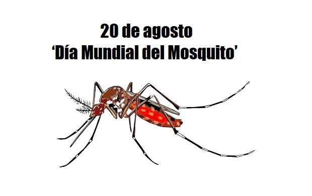 ¿Sabías que el 20 de agosto se celebra el 'Día Mundial del Mosquito'?
