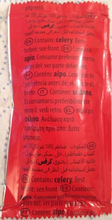 Apio ketchup