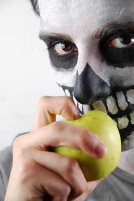 Esqueleto manzana