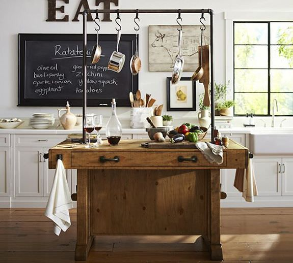 Inspiración Decoración: 10 espectaculares bancos de carpintero reconvertidos en el mueble más envidiable de tu hogar