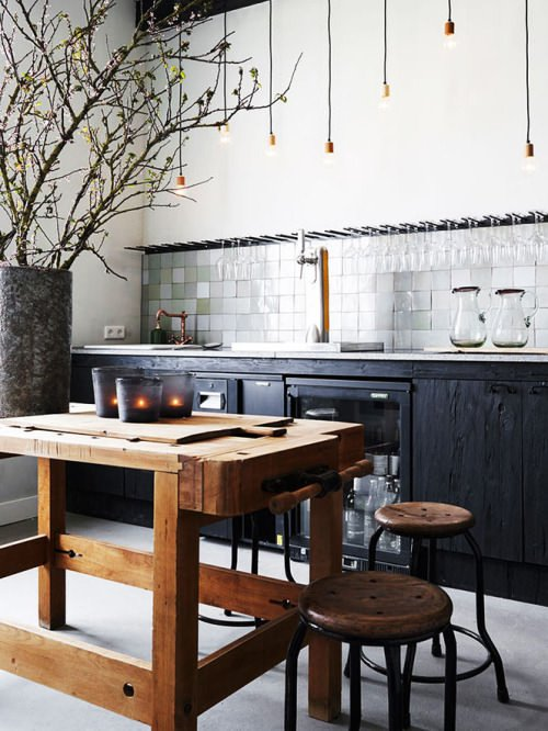 Imagínate estas 10 mesas de carpintero decorando tu casa | Un hogar ...
