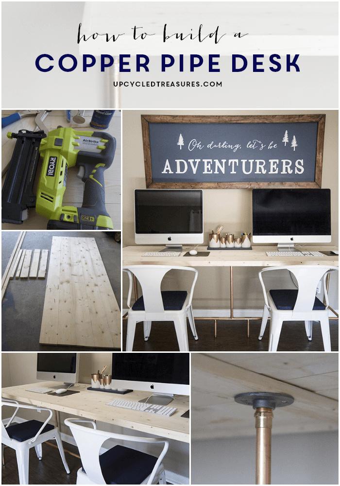 Los expertos en reparación de todo tipo de averías del hogar de Reparalia te traen inspiración para decorar tu hogar con tuberías de cobre, el material de moda.