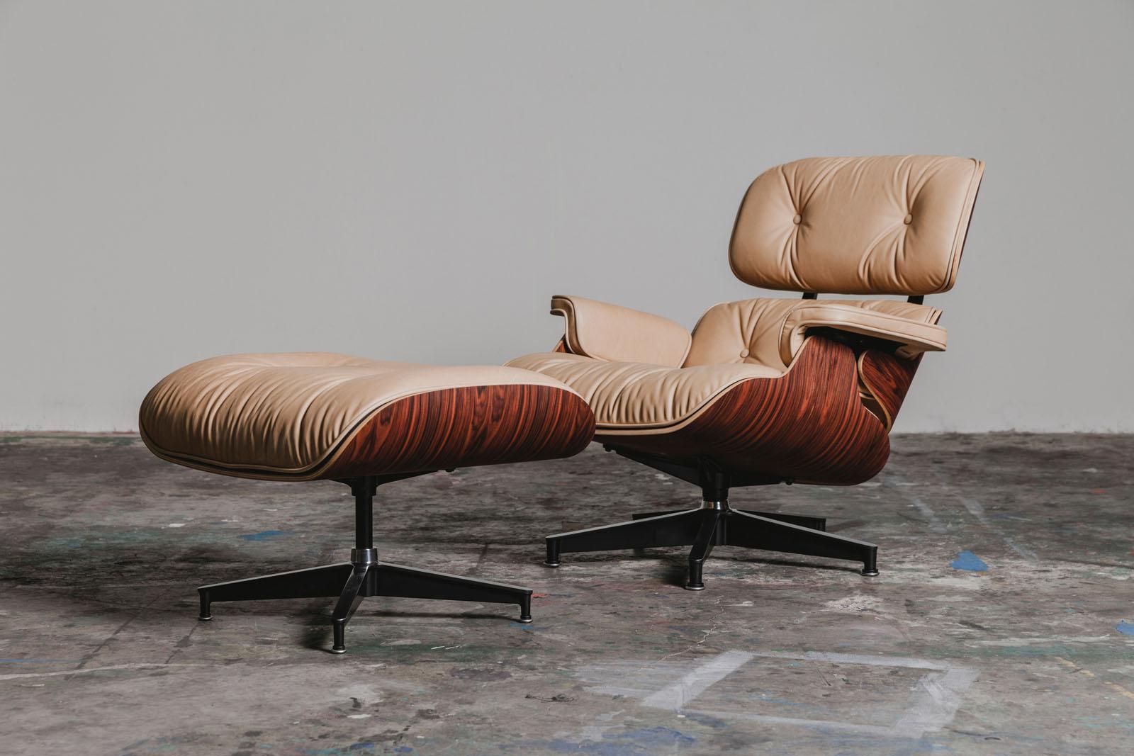 Eames Lounge Chair & Ottoman | Un hogar con mucho oficio