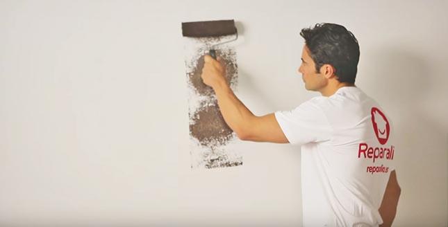 Pintura un hogar con mucho oficio - Pasos para pintar una pared ...