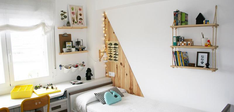 Dormitorio un hogar con mucho oficio - Decoracion con cuerdas ...