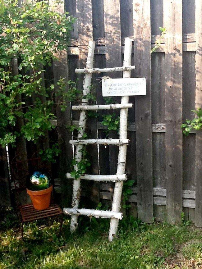 10 ideas diy geniales para reciclar madera y decorar tu - Troncos para jardin ...