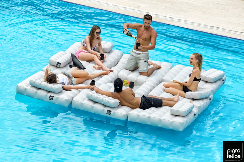 Top tendencia de verano muebles modulares hinchables y for Piscinas hinchables para jardin