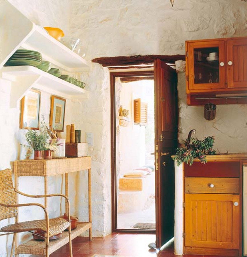 Ideas y consejos para decorar tu casa de pueblo o de for Como decorar una pared rustica