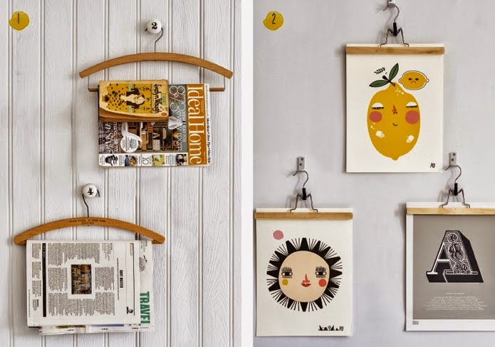 Reciclaje y gesti n de basuras un hogar con mucho oficio - Perchas de pared de diseno ...