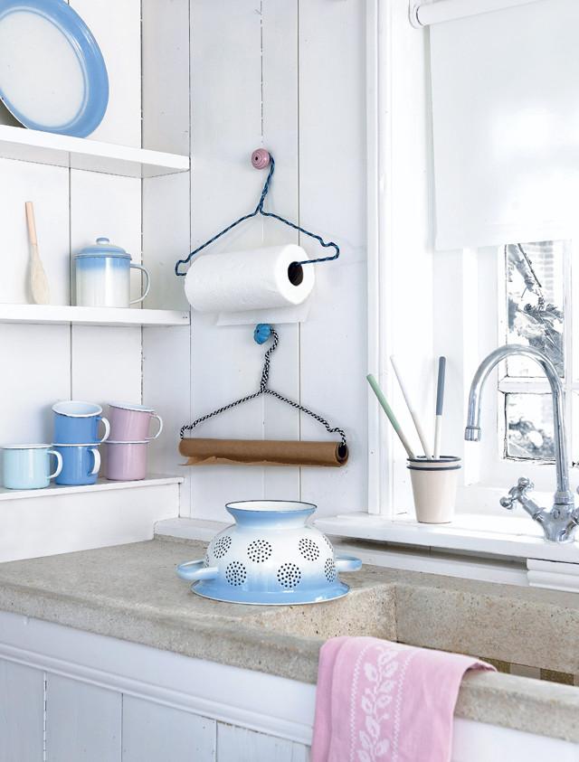 Reciclaje un hogar con mucho oficio - Portarrollos papel cocina ...