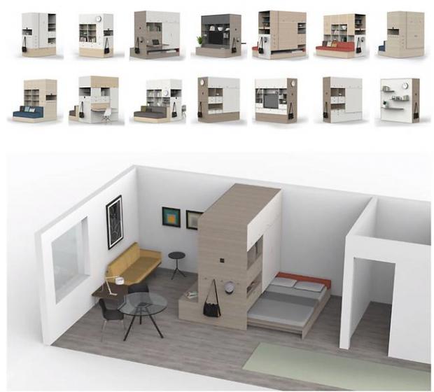 Espacio un hogar con mucho oficio - Todo sobre decoracion de interiores ...