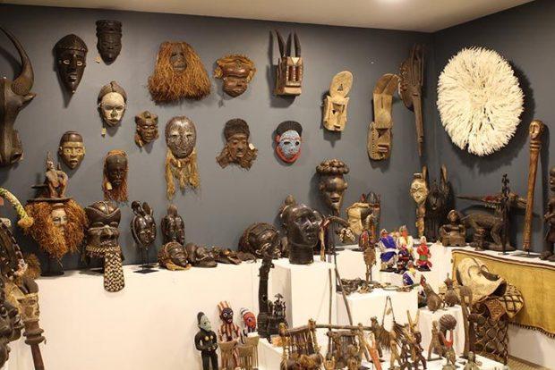 Un hogar con mucho oficio for Muebles africa