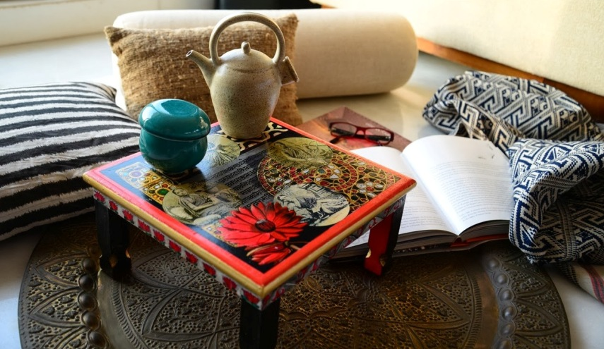 Color un hogar con mucho oficio for Decoracion estilo hindu