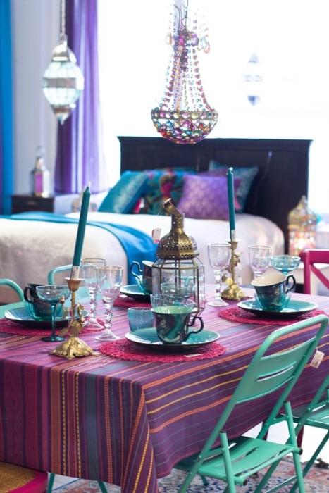 Decoraci n por pa ses 4 estilo hind un hogar con for Decoracion estilo hindu