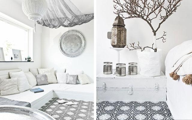 Pintura un hogar con mucho oficio for Muebles estilo arabe