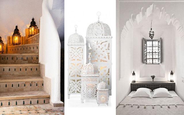 Un hogar con mucho oficio for Decoracion banos estilo arabe