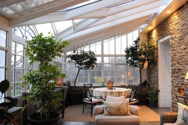 C mo transformar tu terraza en un invernadero un hogar - Invernadero en terraza ...