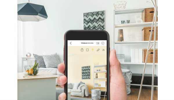 3 apps que te ayudar n a visualizar y elegir tus nuevos for Como elegir pintura para casa