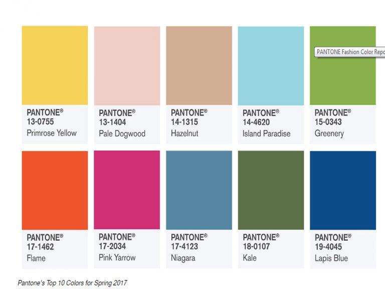 estos son los 10 colores pantone de moda esta primavera 2017 un hogar con mucho oficio. Black Bedroom Furniture Sets. Home Design Ideas