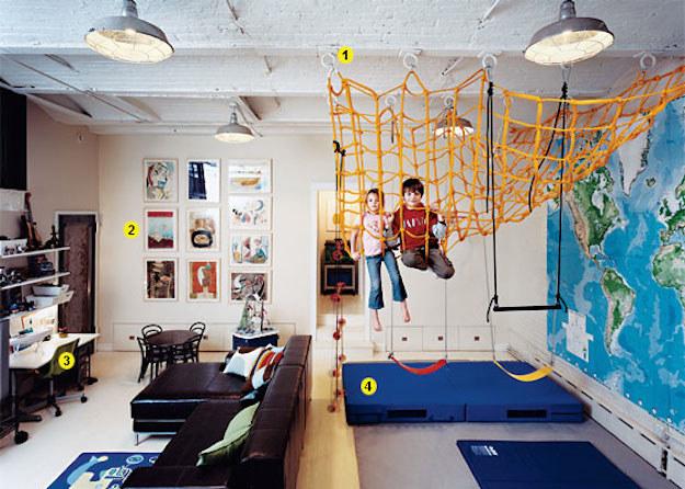 Ideas para convertir tu casa en un paraíso de juegos para niños