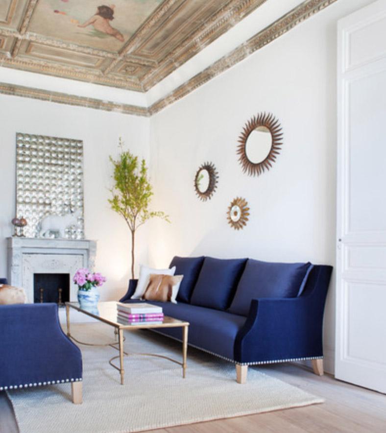 Hogar un hogar con mucho oficio for Colores de pintura para living