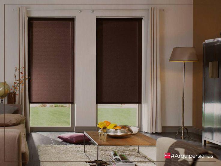 Un hogar con mucho oficio - Cortinas tipo persianas ...