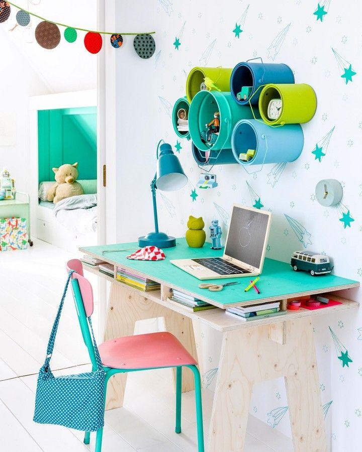 Vuelta al cole: guía de escritorios infantiles | Un hogar con mucho ...