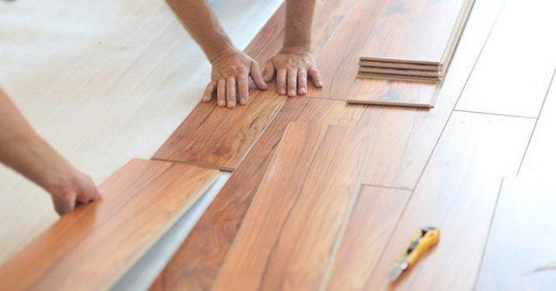 Un hogar con mucho oficio - Colocar suelo laminado ...