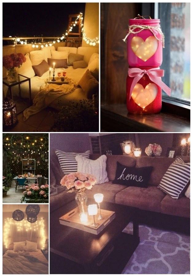Ideas Diy Para Un Hogar Muy Romantico En San Valentin Un Hogar Con - Diy-hogar